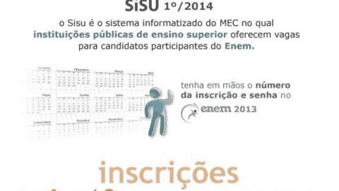 Tire suas dúvidas – Sisu 1º/2014