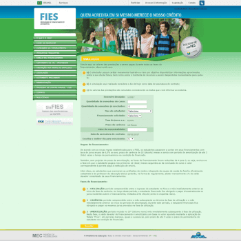 Simulador FIES - Calcule seu Financiamento Estudantil