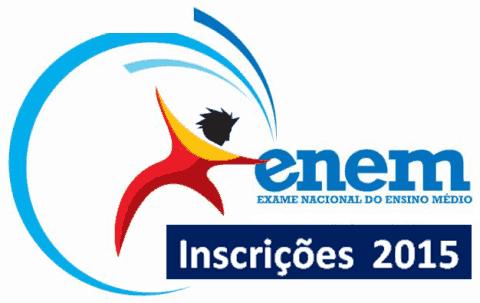 Inscrições para o Enem 2015 começam nesta segunda-feira