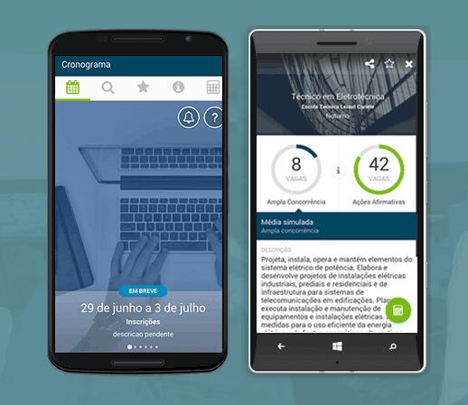 App do Sisutec 2015 para consultas de vagas
