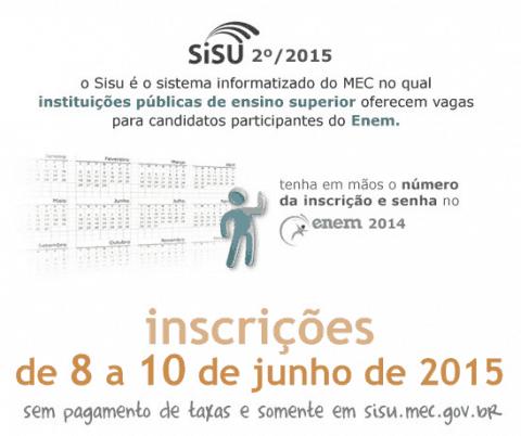 Consulta vagas do Sisu 2015/2