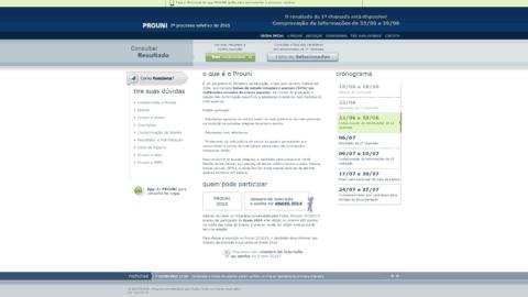 ProUni 2015 encerra prazo para comprovação de informações