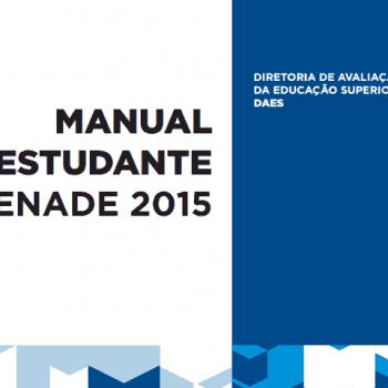 Manual do Estudante do Enade 2015