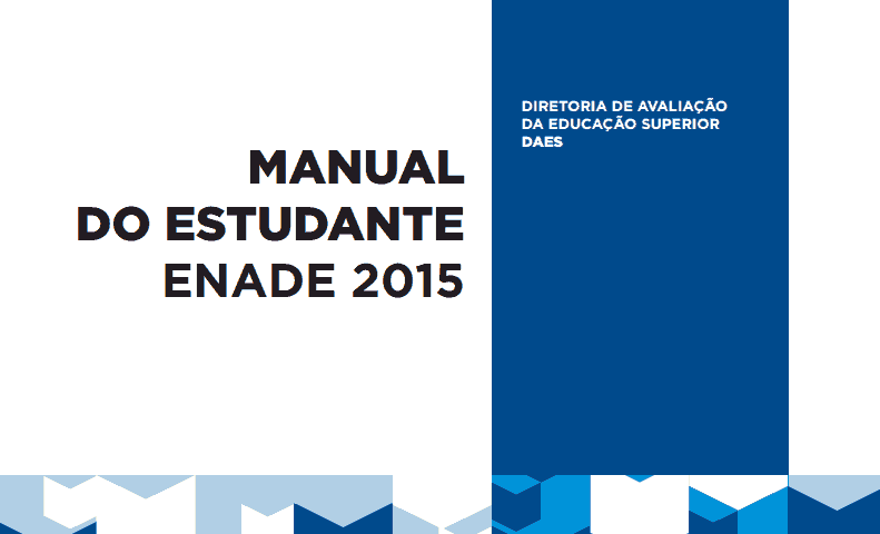 Manual do Estudante do Enade 2015