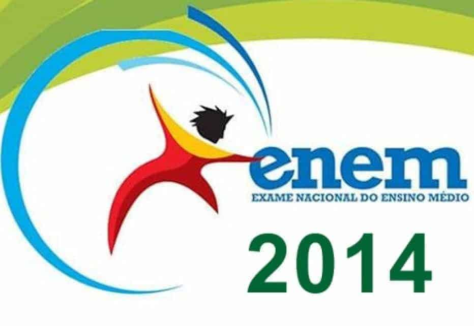 Provas e Gabaritos do ENEM 2014