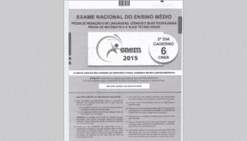 Provas Digitalizadas Enem 2015 devem sair hoje