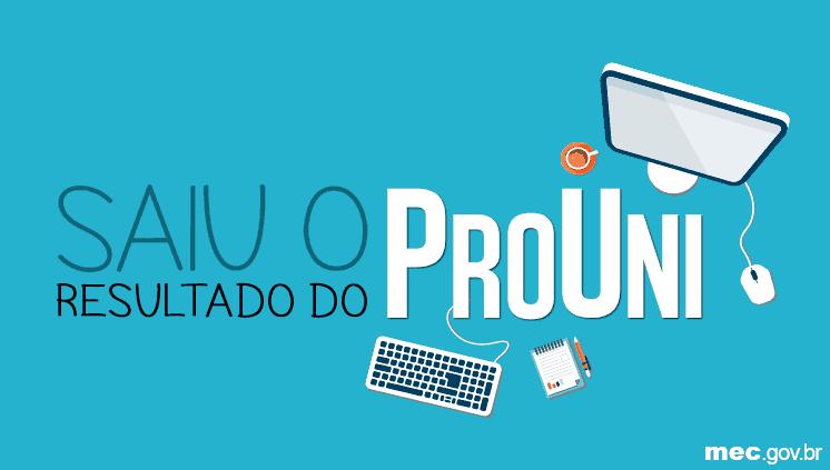 Mec divulga o resultado do ProUni 2016