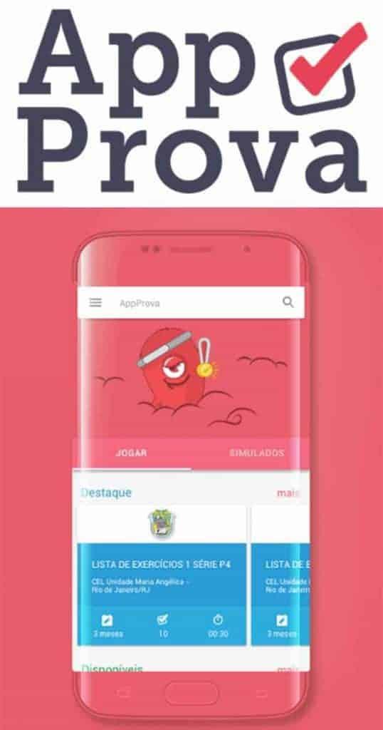 Se prepare para o ENEM com o App Prova para  Android ou iOS