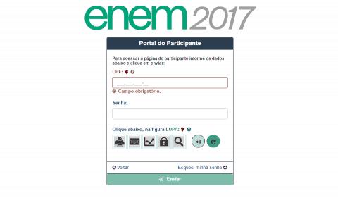 Como consultar e acessar seus dados na Página do Participante ENEM