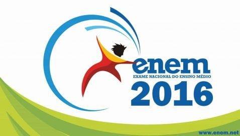 Local de prova do ENEM 2016 será divulgado em 18 de Outubro