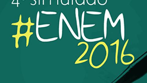 Quarto Simulado do ENEM acontece no próximo dia 8
