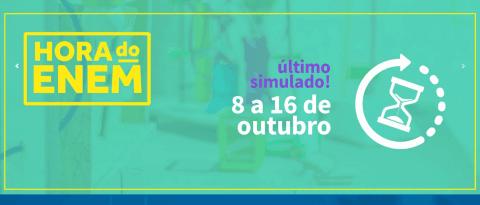 Teste seu conhecimento no Simulado Online Hora do ENEM