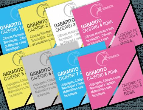 Gabaritos e Cadernos de Questões da segunda aplicação do Enem 2016