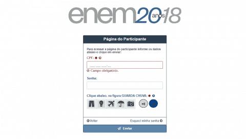 Como acessar sua Página do Participante ENEM - Entrar