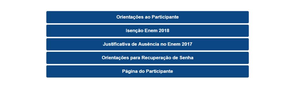 Como acessar sua Página do Participante ENEM 2019 - INEP