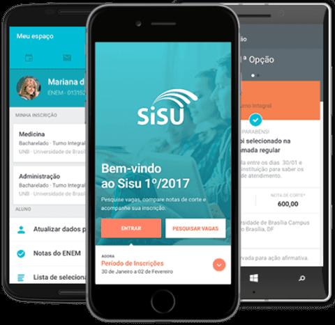 Faça o download do App Sisu 2017 Grátis