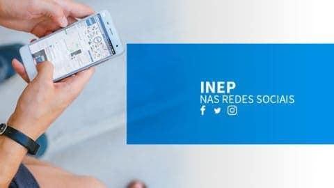 Inep lança página oficial no Facebook e Instagram