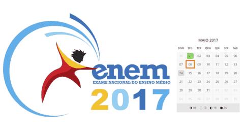 Faltam 25 dias para o inicio das Inscrições do Enem 2017