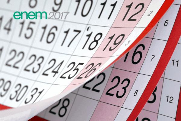 Calendário do Enem 2017 - Inscrições, Provas, Resultado