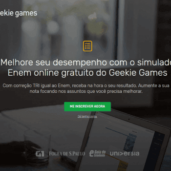 Como funciona o Simulado do Geekie Games Enem