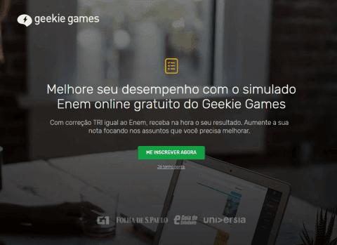 Como funciona o Simulado do Geekie Games Enem