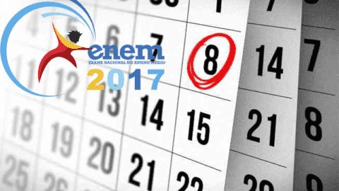 Faltam 5 dias para o inicio das Inscrições do Enem 2017