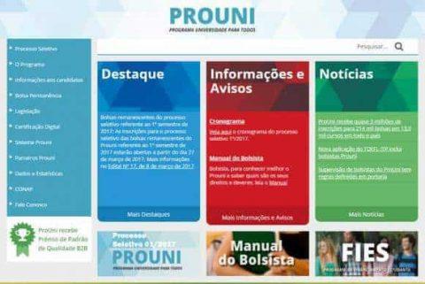 Resultado da segunda chamada do ProUni 2017