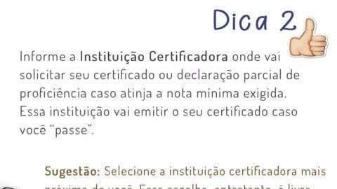 O que é Instituição Certificadora do Encceja 2017