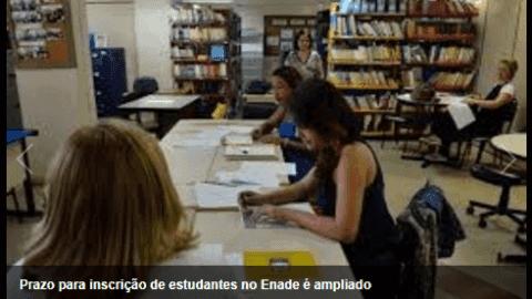 MEC divulga novo prazo para inscrição de estudantes no Enade