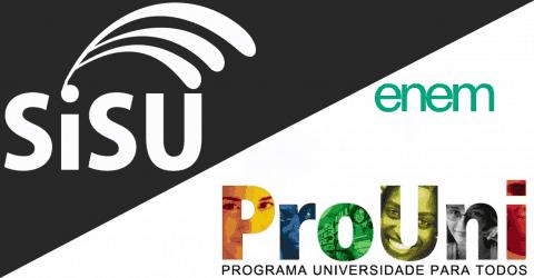 Qual pontuação mínima do Enem para participar do Sisu e ProUni