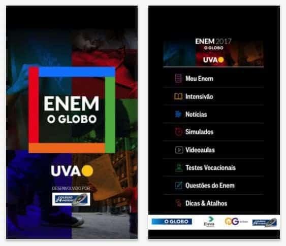 Globo lança aplicativo Enem O Globo - Android e iOS