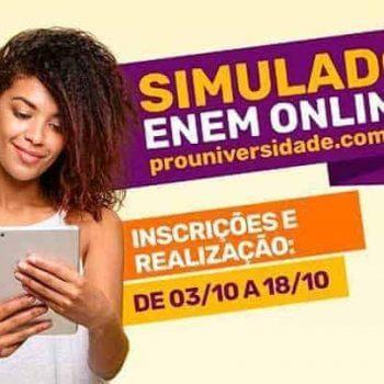 Simulado Enem Online 2017 abre Inscrições Gratuitas