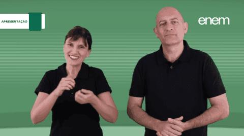 Videoprovas em libras do Enem 2017