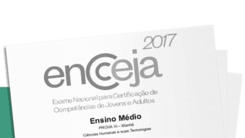 Gabarito Oficial do Encceja 2017