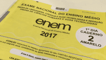 Resultado do Enem é antecipado para 18 de janeiro