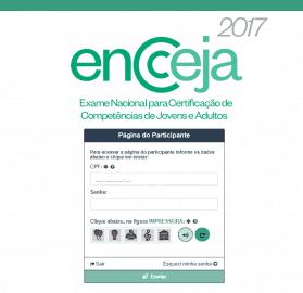 Resultados individuais do Encceja 2017