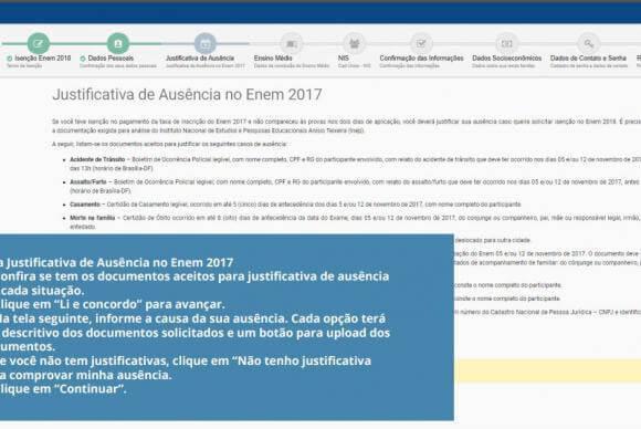 Como pedir isenção da taxa de inscrição do Enem 2018