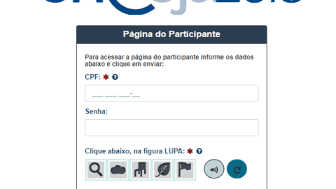 Acessar a Página do Participante Encceja - Inscrição