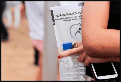 Obrigações dos candidatos que participarão do ENEM 2018