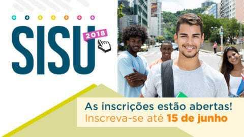 Candidatos ao Sisu do segundo semestre podem fazer inscrições até a próxima sexta-feira, 15