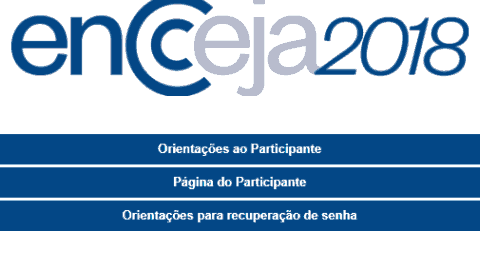Cartão de Confirmação de Inscrição do ENCCEJA 2018