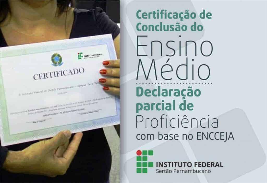 Veja como obter seu certificado do ENCCEJA 2019