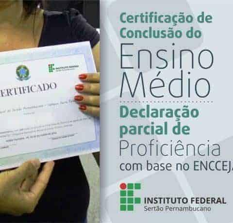 Como solicitar o Certificado de Conclusão do Encceja 2018