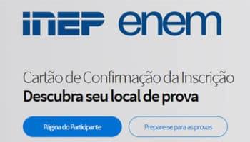 Acessar a Página do Participante ENEM 2020