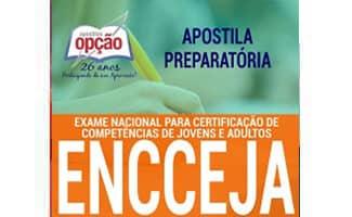 Apostilas Atualizadas para o ENCCEJA 2020 - ENSINO FUNDAMENTAL