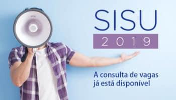 Consulta de vagas do Sisu 2019/2 está disponível