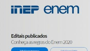 Inep divulga Edital do Enem 2020